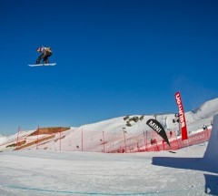 Winner Mark McMorris at the Burton New Zealand Open 2011