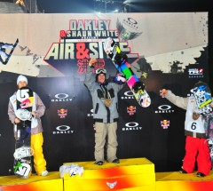 Oakley Shaun White Air &amp; Style Beijing 2010