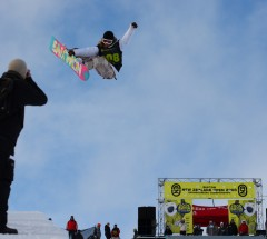 Jamie Anderson at the Burton New Zealand Open