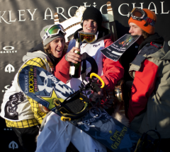 Mens podium, Oakley Arctic Challenge 2011