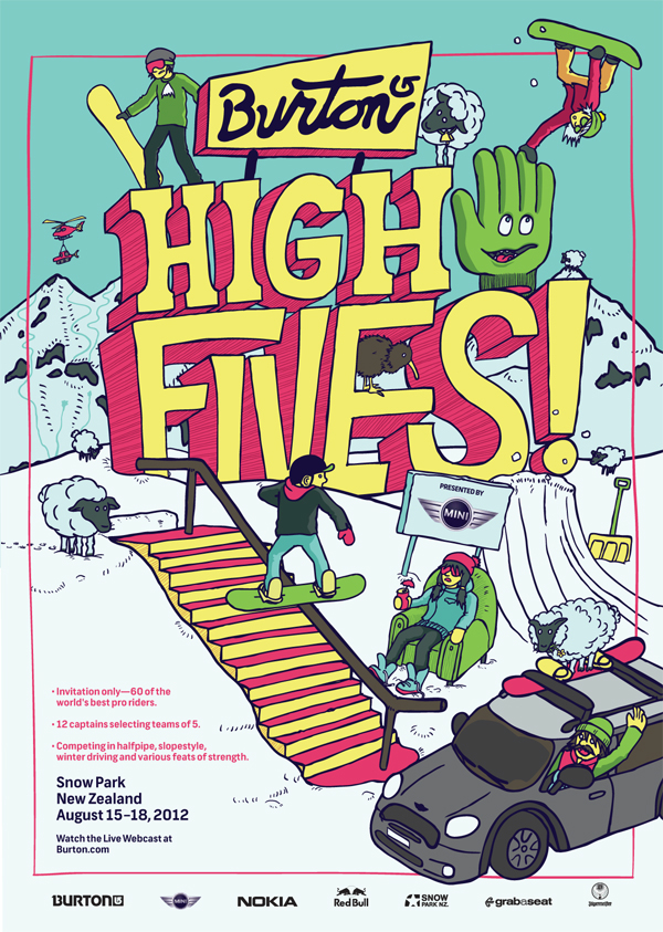 High Fives poster