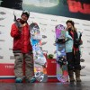 Slopestyle World Tour Champions Jamie Anderson and Sebastien Toutant