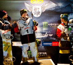 Prizegiving at the Nike 6.0 Air & Style Munich 2011