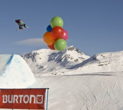 Shaun White, Burton European Open 2009