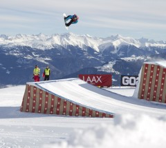 Peetu Piiroinen at the Burton European Open Slopestyle