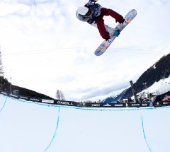 O'Neill Evolution 2011 Davos, Halfpipe Men Semi-Finals