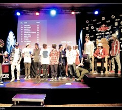 Prizegiving - Video Judging at the Quiksilver Spring Battle 2012