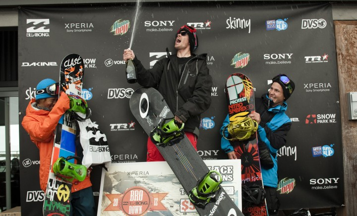 Podium at the Billabong Bro Down 2012 by JMac