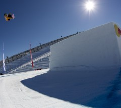 2nd place slopestyle Christy Prior at the Burton High Fives 2012
