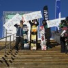Mens slopestyle Podium at the Burton High Fives 2012