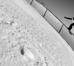 Sebastien Toutant during the Burton High Fives Slopestyle 2012