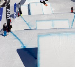 Ty Walker came in 3rd place at the Burton High Fives slopestyle finals 2012
