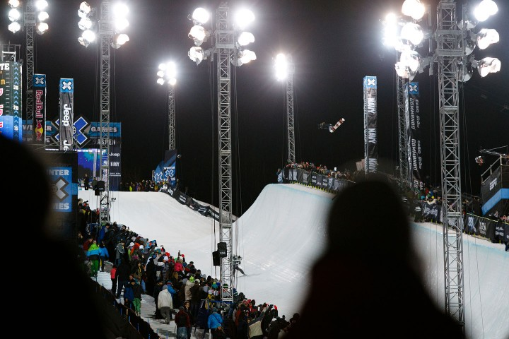 Shaun White at the Winter X Games 2012 in Aspen, Colorado - Credit: Trevor Brown