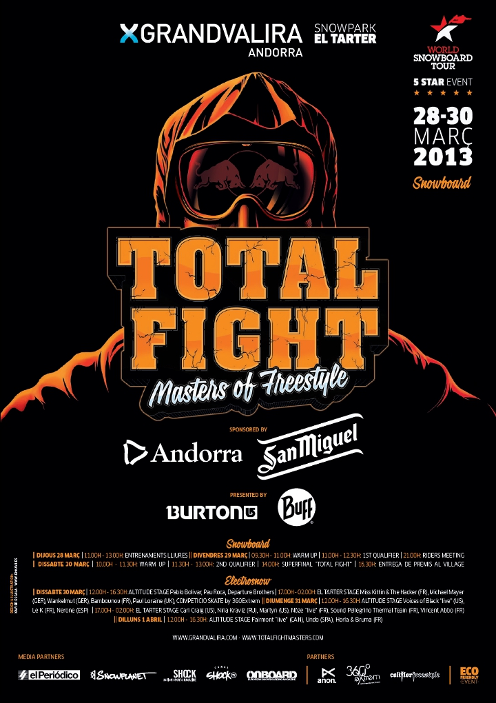 Grandvalira Total Fight 2013 Poster