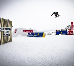 Jamie Nicholls - Final Day at O'Neill Pleasure Jam 2012. Photo: Roland Haschka