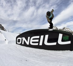 Werni Stock going for 2nd place at O'Neill Pleasure Jam. Photo: Roland Haschka