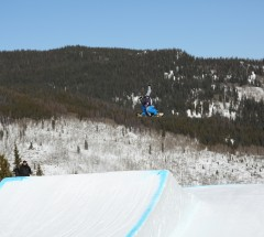 Chas Guldemond during the Grand Prix Slopestyle qualifiers