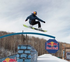 Aimee Fuller during Slopestyle practice at the X Games Aspen 2013 - Photo by Tom Zuccareno / ESPN Images