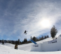 Shaun White during Slopestyle practice at the X Games Aspen 2013 - Photo by Gabriel Christus / ESPN Images