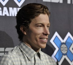 Shaun White at press conference at X Games Aspen - Photo by Eric Bakke / ESPN Images