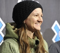 Kelly Clark at press conference at X Games Aspen 2013 - Photo by Eric Bakke / ESPN Images