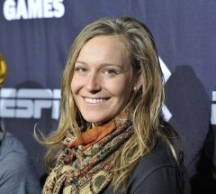 Jamie Anderson at press conference at X Games Aspen 2013 - Photo by Eric Bakke / ESPN Images