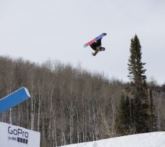 Sebastien Toutant - Men&#039;s Snowboard Slopestyle X Games Aspen