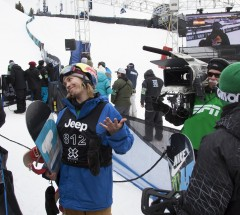 Roope Tonteri unfortunately didn&#039;t make Slopestyle finals - X Games Aspen 2013 - Photo by Josh Gunter / ESPN Images