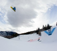 Chas Guldemond during Slopestyle Eliminations at X Games Aspen 2013 - Photo by Matt Morning / ESPN Images