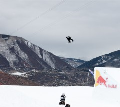 Shaun White during Slopestyle Eliminations at X Games Aspen 2013 - Photo by Pete Demos / ESPN Images