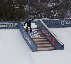 Mark McMorris during Slopestyle Eliminations at X Games Aspen 2013 - Photo by Pete Demos / ESPN Images