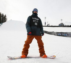 Seppe Smits took 3rd place in Slopestyle finals - X Games Aspen 2013 - Photo by Gabriel Christus / ESPN Images