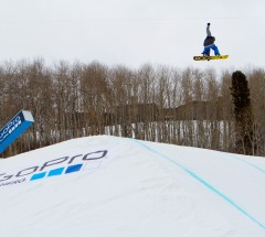 Chas Guldemond during Slopestyle finals - X Games Aspen 2013 - Photo by Matt Morning / ESPN Images