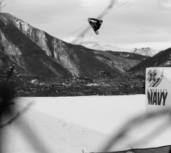 Maxence Parrot took 2nd place - X Games Aspen 2013 - Photo by Matt Morning / ESPN Images