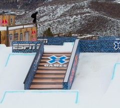 Shaun White during Slopestyle finals - X Games Aspen 2013 - Photo by Matt Morning / ESPN Images