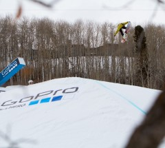 Spencer O'Brien during Slopestyle finals - X Games Aspen 2013 - Photo by Matt Morning / ESPN Images