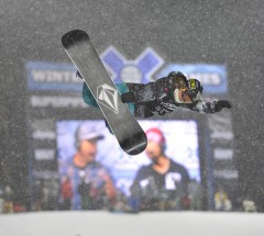 Backside air by Elena Hight - X Games Aspen 2013 - Photo by Eric Bakke / ESPN Images