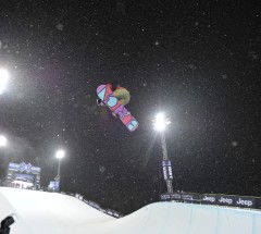 Halfpipe winner Kelly Clark - X Games Aspen 2013 - Photo by Eric Bakke / ESPN Images