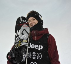 Kelly Clark win with huge tricks - X Games Aspen 2013 - Photo by Eric Bakke / ESPN Images