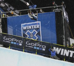 Arielle Gold put down an solid run and finished 3rd - X Games Aspen 2013 - Photo by Gabriel Christus / ESPN Images