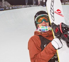 Markus Malin takes Bronze Medal at X Games Super-Pipe Finals - Photo: Tom Zuccareno