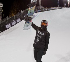 Shaun White takes his 6th X Games Gold in Halfpipe with a score of 98.00 - Photo: Tom Zuccareno