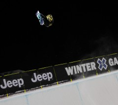Greg Bretz at Super-Pipe Finals - X Games 2013 - Photo: Gabriel Christus