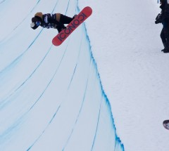 Fabian Fassnacht (SUI) at O'Neill Evolution Finals Men Halfpipe - Photo: David Birri
