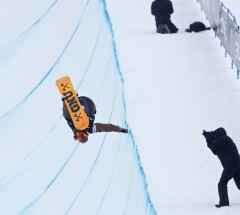 O&#039;Neill Evolution 2013 Davos Finals Men Halfpipe