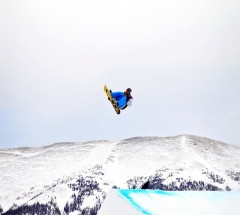 Chas Guldemond won the Grand Prix Copper Slopestyle finals with consistency and big tricks - Photo: Sarah Brunson