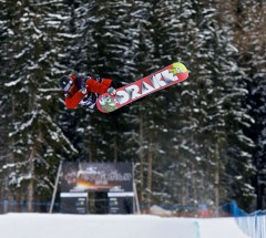 Text book backside air by Gian Simmen at the O'Neill Evolution 2013