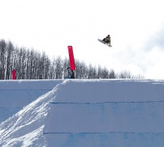 Spencer O'Brien - Women's semi final at the Burton US Open 2013 - Photo: Jeff Patterson