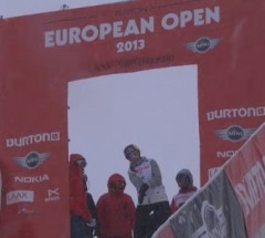 Arielle Gold&#039;s Winning Run at the Burton European Open 2013