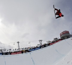 Iouri Podladtchikov at the Burton European Open - Photo: Laemmerhirt